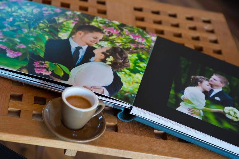 Hochzeitsfotograf Pfaffenhofen Ingolstadt Neuburg München Freising Hochzeitsalbum Graphistudio wedding book